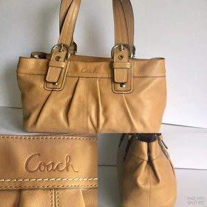 Coach  Authentic Leather Hobo Shoulder Bag